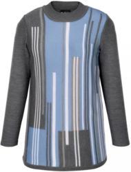 m. collection Pullover mit streckenden Längsstreifen
