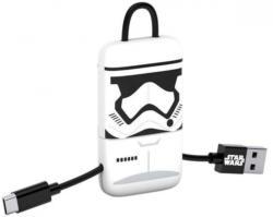 """Micro-USB-Ladekabel """"Stormtrooper"""" schwarz"""