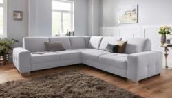 Sit&More Polsterecke mit Federkern und Sitztiefenverstellung, wahlweise mit Bettfunktion und Bettkasten