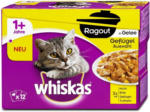 dm whiskas 1+ Jahre Ragout Katzenfutter Geflügel Auswahl in Gelee