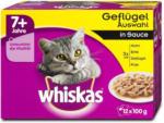 dm whiskas 7+ Jahre Katzenfutter Geflügel Auswahl in Sauce