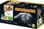 dm-drogerie markt Sheba Nassfutter für Katzen, Sauce Lover, Feine Vielfalt, Multipack, 32x85g