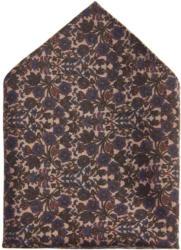 PIERRE CARDIN Woll-Einstecktuch mit Allover-Print