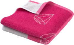 Handtuch mit Diamanten-Motiv