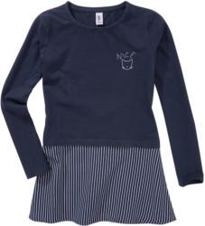 Mädchen Shirt mit Chiffon-Einsatz