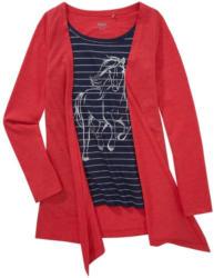 Mädchen Shirt mit fixiertem Cardigan