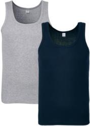 2 Herren Unterhemden aus Baumwolle
