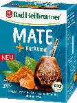dm-drogerie markt Bad Heilbrunner Kräuter-Tee, Mate Tee mit Kurkuma (15x2g)
