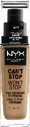 NYX PROFESSIONAL MAKEUP Make-up Can't Stop Won't Stop 24-Hour Foundation camel 12.5