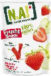 dm-drogerie markt N.A! Frucht Snack, Fruchtstücke Erdbeere