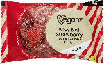 dm-drogerie markt Veganz Fruchtkugel, bliss ball, strawberry mit Datteln, Mandeln & Erdbeeren