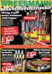 Wreesmann Mega Feuerwerksverkauf - bis 31.12.2018