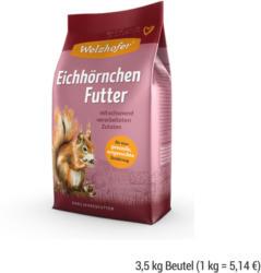WELZHOFER Eichhörnchen Futter 3,5 kg Beutel