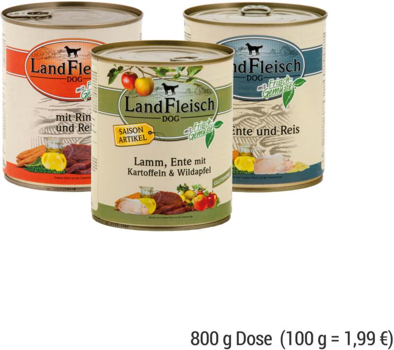 LANDFLEISCH Dog / Pur 800 g Dose