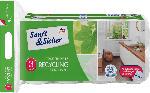 dm-drogerie markt Sanft&Sicher Toilettenpapier Recycling 3-lagig (8x200 Blatt)