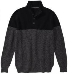 Herren-Pullover mit modernem Strickdesign