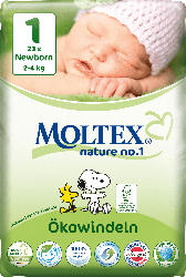 Moltex Windeln nature no.1 Größe 1 Newborn, 2-4kg,