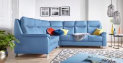 Sit&More Polsterecke mit Federkern und Kopfteilverstellung, wahlweise mit Bettfunktion und Schubkasten