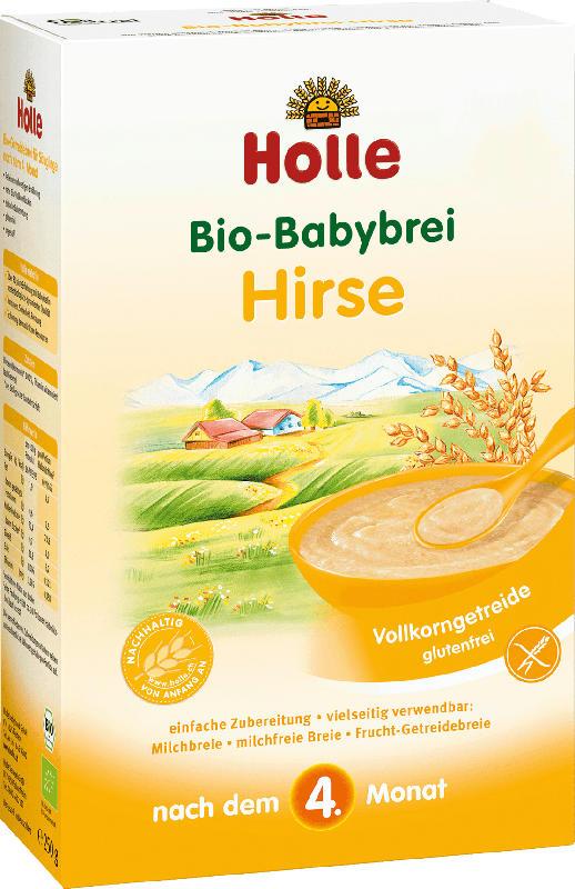 Holle baby food Getreidebrei Hirse Bio nach dem 4.Monat