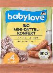 dm-drogerie markt babylove Bio Mini-Dattel-Konfekt ab 4 Jahren