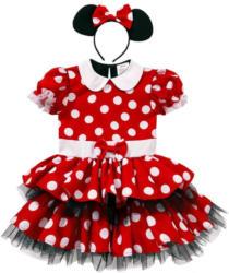 Karnevalskostüm Maus mit passendem Haarreifen