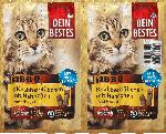 dm-drogerie markt Dein Bestes Snack für Katzen, Knabber-Stäbchen BBQ mit Hähnchen