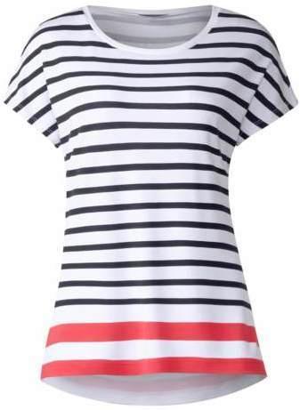 Farbenfrohes Streifenshirt