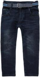Jungen Straight-Jeans mit Gürtel