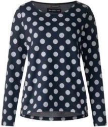 Feminines Punkte Sweatshirt