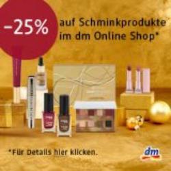 -25% auf beliebig viele Schminkprodukte