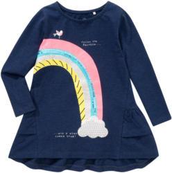 Mädchen Langarmshirt mit Regenbogen-Motiv
