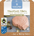 dm-drogerie markt followfish Thunfisch Filets, in Bio-Olivenöl, MSC Zertifizierung, Fair Trade