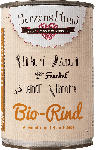 dm-drogerie markt HerzensHund Nassfutter für Hunde, Bio Rind mit Bio Einkorn, Bio Zucchini, Bio Karotte, Bio Fenchel, Bio Leinöl