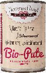 dm-drogerie markt HerzensHund Nassfutter für Hunde, Bio Pute mit Bio Hirse, Bio Karotte, Bio Schwarzwurzel, Bio Cranberry, Bio Nachtkerzenöl, glutenfrei