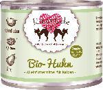 dm-drogerie markt KatzenLiebe Nassfutter für Katzen, Bio-Huhn mit Bio-Quinoa, Bio-Birne, Bio-Kokosflocken, Taurin