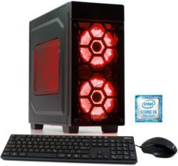HYRICAN Gaming PC Intel i5-7400, 8GB, SSD + HDD, GeForce® GTX 1050 Ti »Striker 5647«