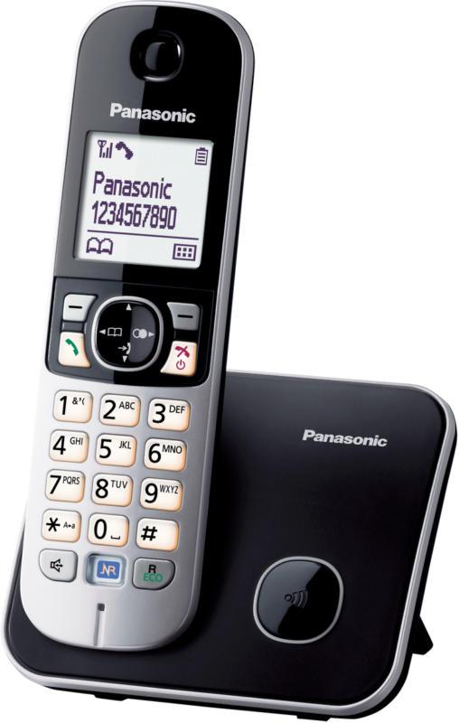 Panasonic KX-TG6811GB schwarz, NEU, OVP, extrabreites Display, Smart-Taste