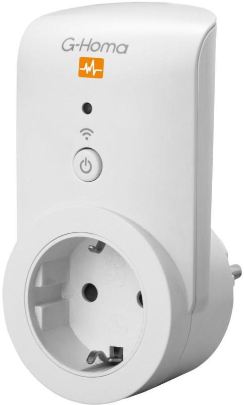 G-Homa WiFi-Steckdose Messfunktion mit App Steuerung EIN/AUS-Schaltung NEU OVP