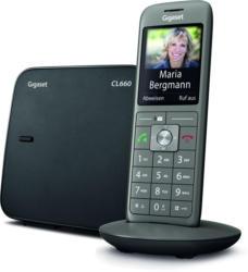Gigaset CL660 Schnurlostelefon Grau ECO-DECT 6,1 cm (2,4 Zoll) Display NEU OVP