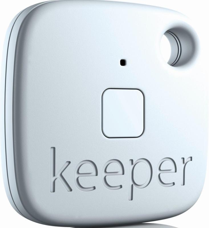 Gigaset Keeper Weiß Schlüssel-/Gerätefinder Such-/Alarmfunktion BRANDNEU