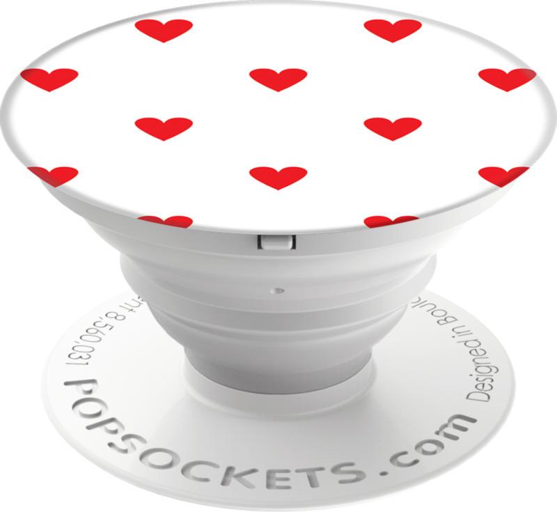 PopSockets - Grip Hearting Handyhalter Standfuß Alltagshilfe BRANDNEU