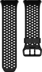 fitbit Ionic Accessory Sport Ersatz-/Wechselarmband Schwarz-Grau Gr. L NEU OVP