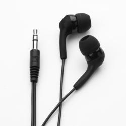 ifrogz Audio Headset Kopfhörer Ear Pollution Bolt Plus + Mic, Schwarz NEU OVP