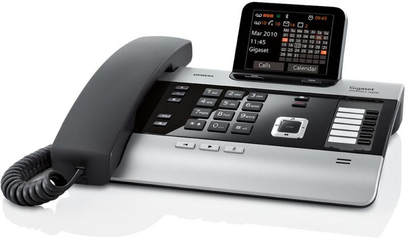 Gigaset DX600A ISDN titanium mit AB, NEU, OVP, Bluetooth Funktionalität, CTI