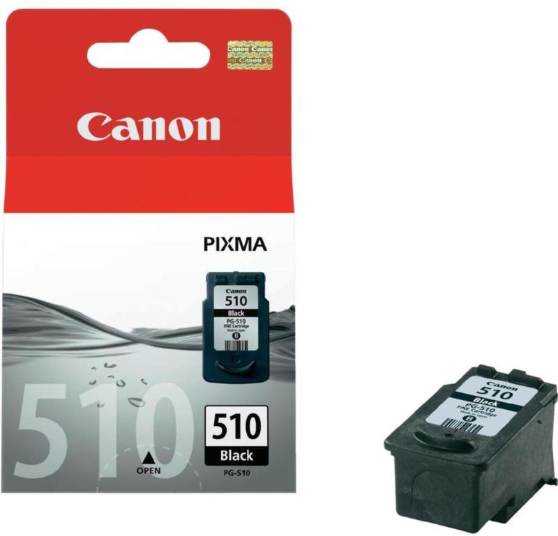 Canon Tintenpatrone PG-510 schwarz (Reichweite: ca. 220 Seiten) BRANDNEU