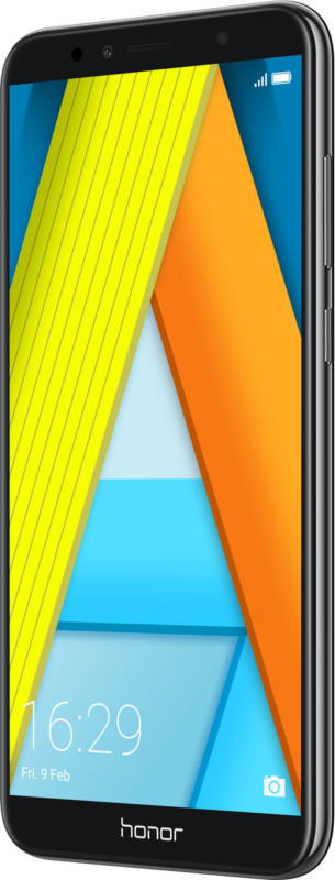 Honor 7A Schwarz 16GB Dual-SIM 14,47 cm (5,7 Zoll) 13 MP Android 8.0 BRANDNEU