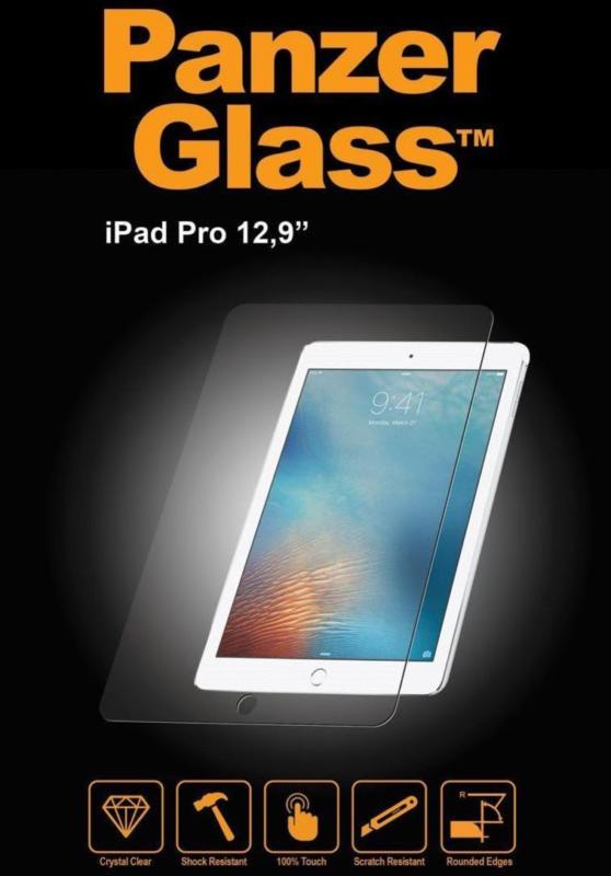 Panzer Glass Folie für Apple iPad Pro 12.9 Schutzfolie Kratzfest Klar NEU OVP