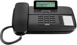 Gigaset DA710 schwarz, NEU, OVP, Headset-Anschluss, Telefonbuch für 100 Einträge