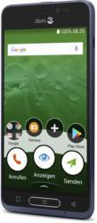 Doro 8035 dark blue, 12,7 cm DH-Display, 5 MP Kamera, 16 GB, Android, BRANDNEU
