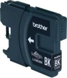 Brother Tintenpatrone LC-980BK Schwarz (Reichweite: ca. 300 Seiten) BRANDNEU